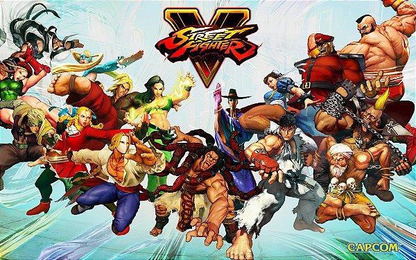 Poster Street Fighter 5 #E