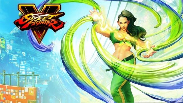 Poster Street Fighter 5 #F