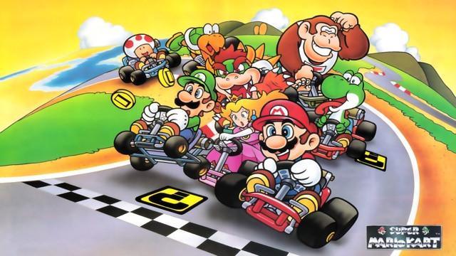 Poster Super Mario Kart #A