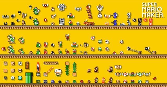 Poster Super Mario Maker #C