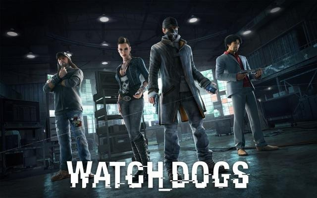 Poster Watch Dogs 1 #D