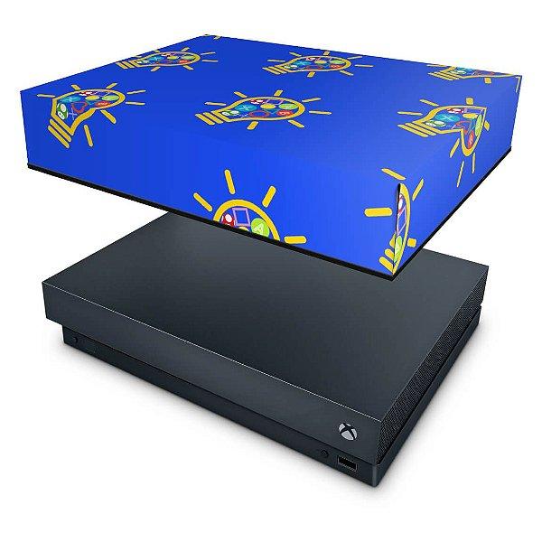 Xbox One X Capa Anti Poeira - Personalizada