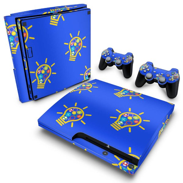 PS3 Slim Skin - Personalizada