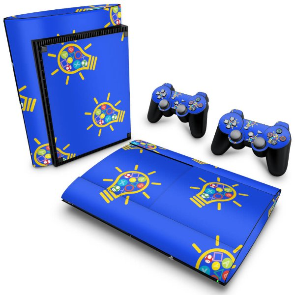 PS3 Super Slim Skin - Personalizada