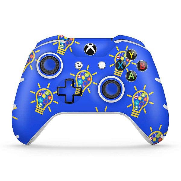 Skin Xbox One Slim X Controle - Personalizada