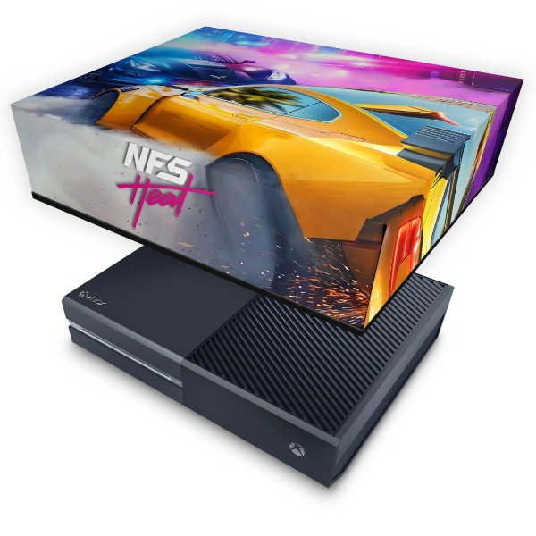 Xbox One Fat Capa Anti Poeira - Need For Speed Heat