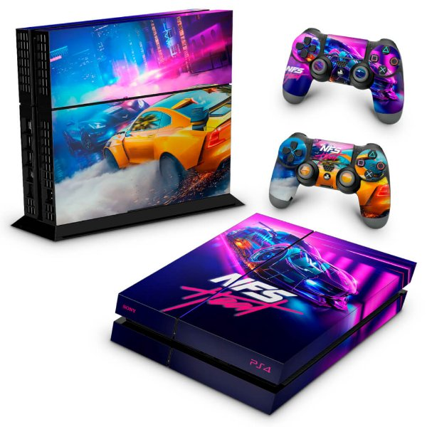 PS4 Fat Skin - Need For Speed Heat