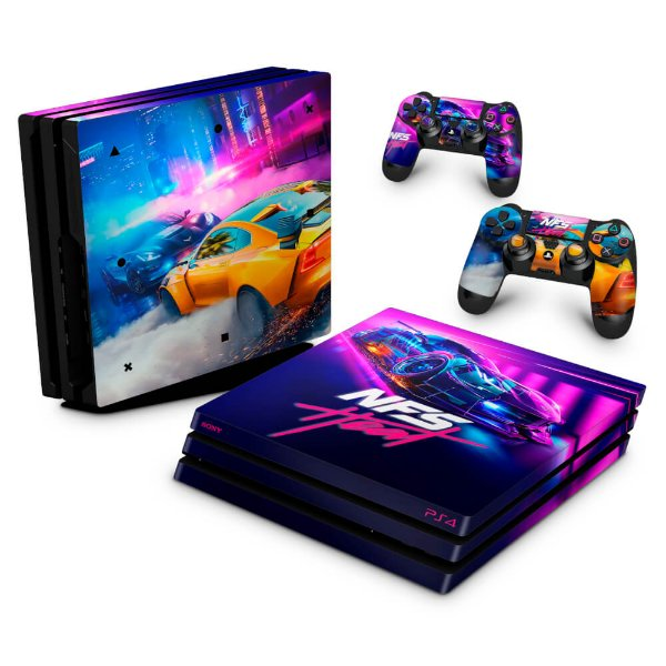 PS4 Pro Skin - Need For Speed Heat
