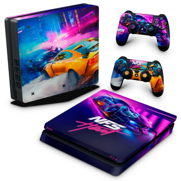 PS4 Slim Skin - Need For Speed Heat