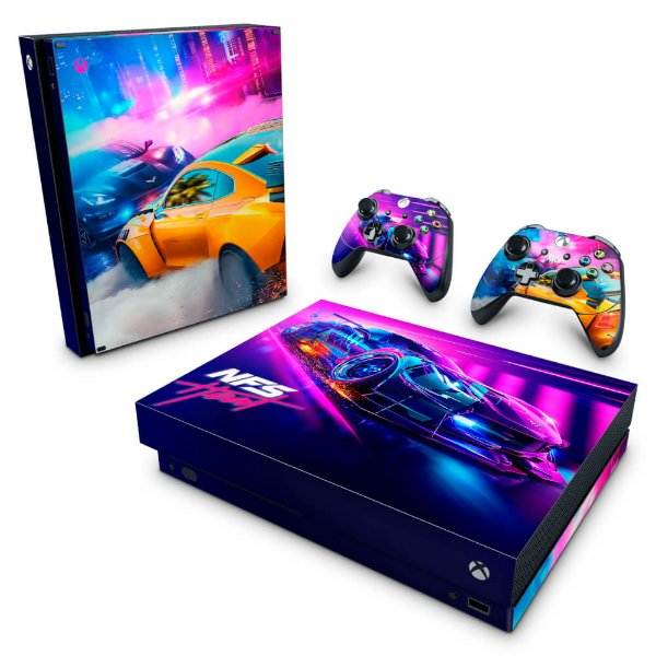 Xbox One X Skin - Need For Speed Heat