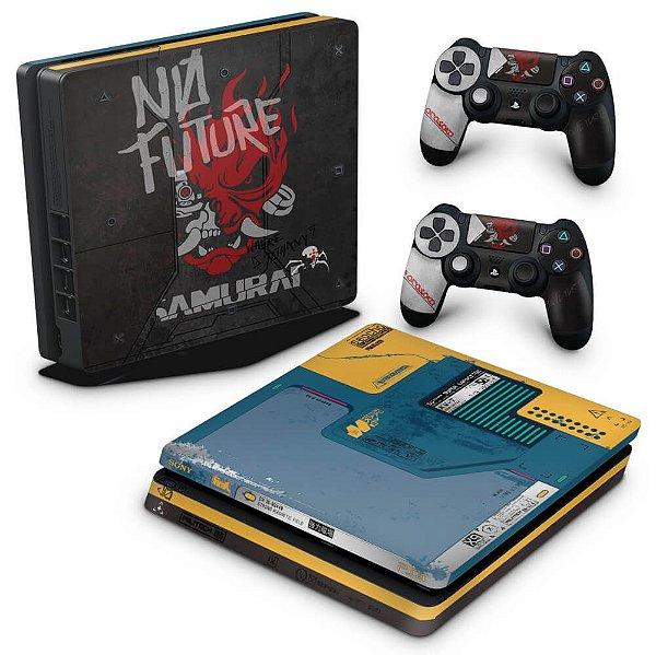PS4 Slim Skin - Cyberpunk 2077 Bundle