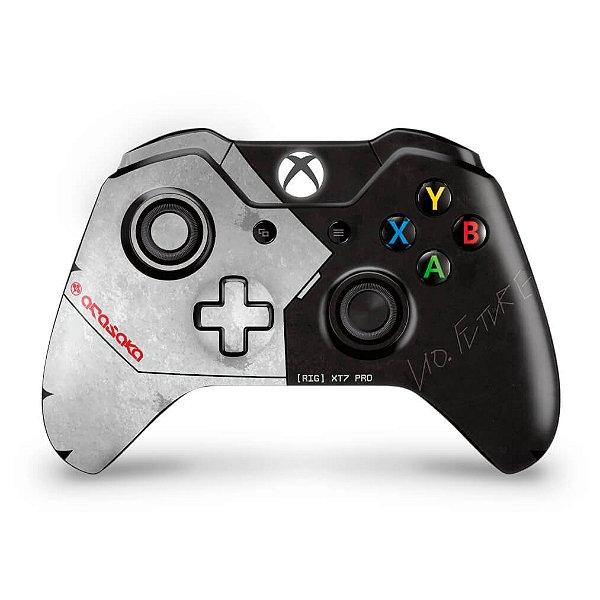 Skin Xbox One Fat Controle - Cyberpunk 2077 Bundle