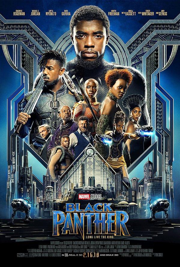 Poster Pantera Negra A