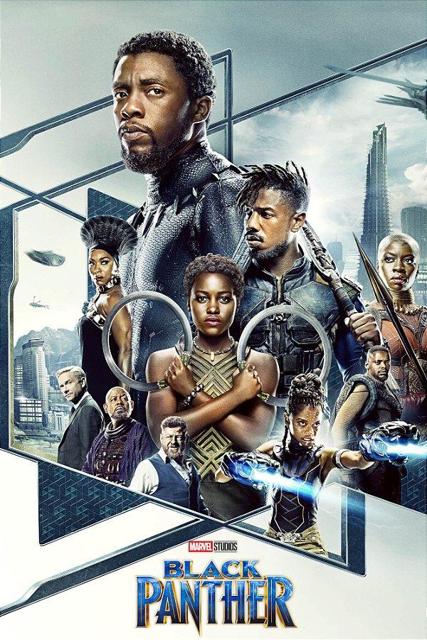 Poster Pantera Negra B
