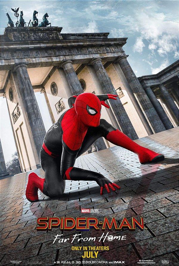 Poster Homem Aranha Longe de Casa C