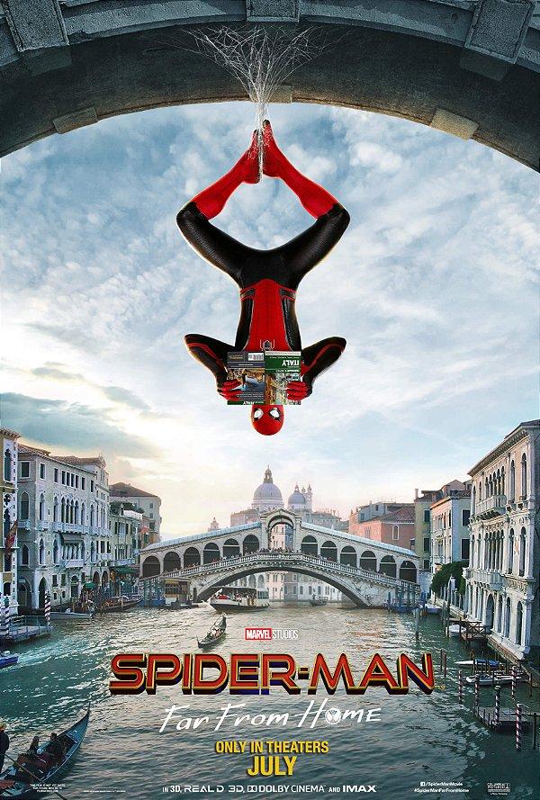 Poster Homem Aranha Longe de Casa D