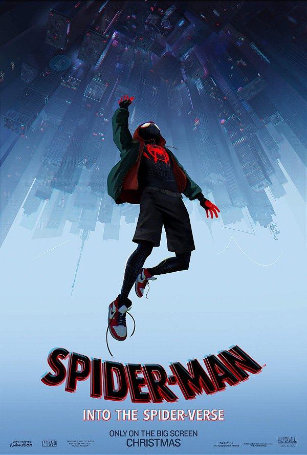 Poster Homem-aranha no aranhaverso A