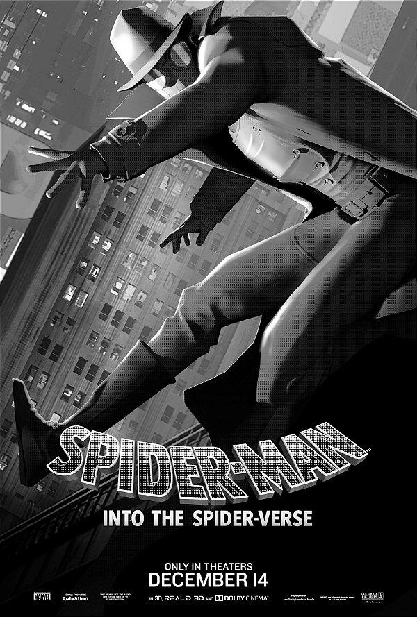 Poster Homem-aranha no aranhaverso E