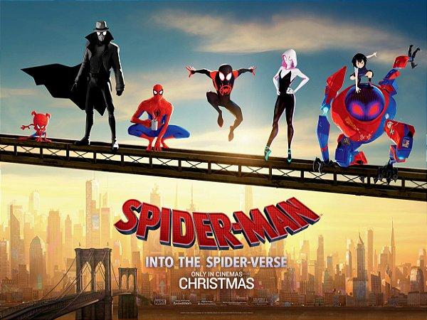 Poster Homem-aranha no aranhaverso G