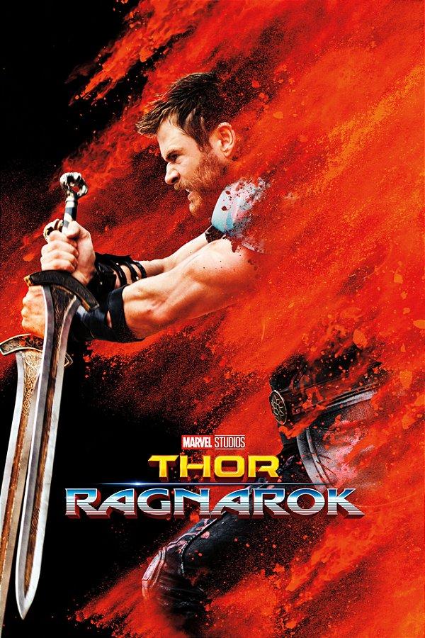 Poster Thor Ragnarok D