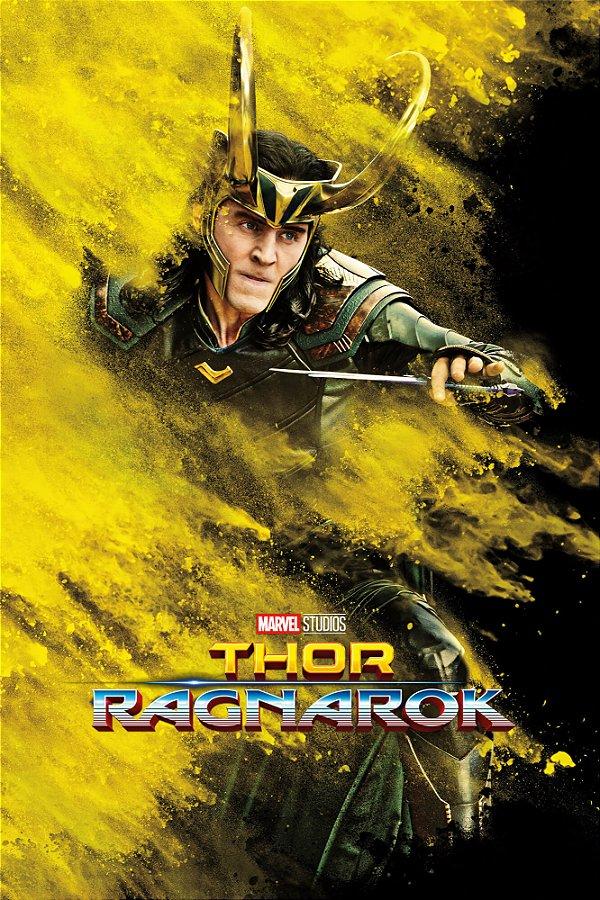 Poster Thor Ragnarok F