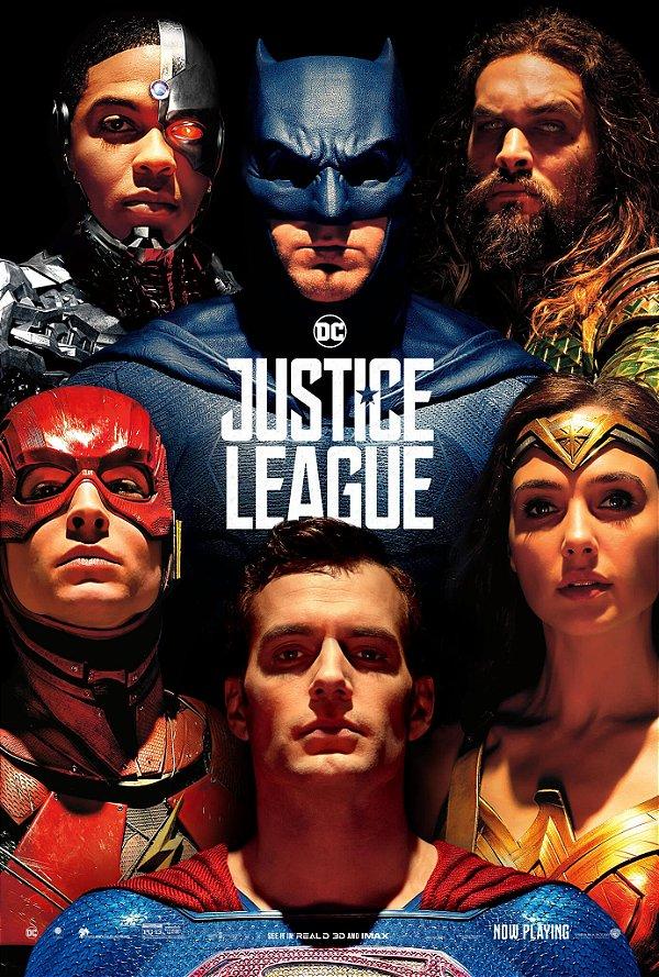 Poster Liga da Justiça B