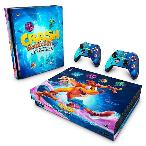 Xbox One X Skin - Crash Bandicoot 4