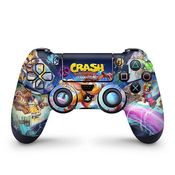 Skin PS4 Controle - Crash Bandicoot 4