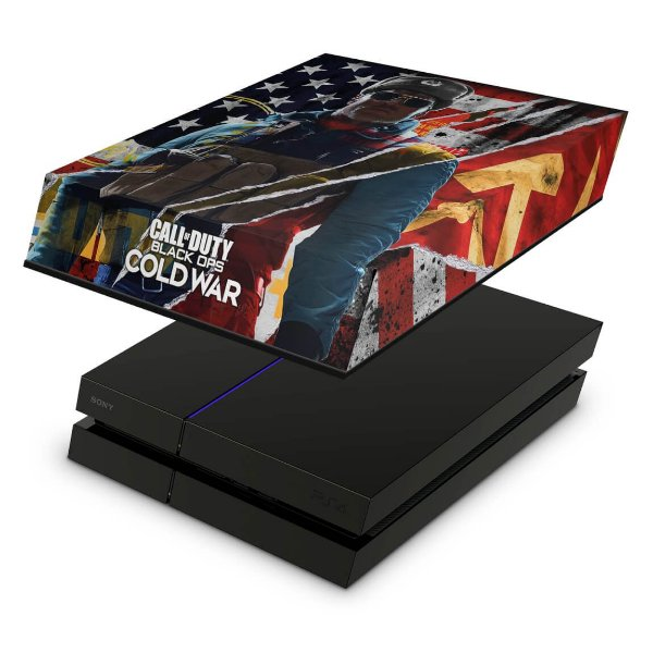 PS4 Fat Capa Anti Poeira - Call Of Duty Cold War