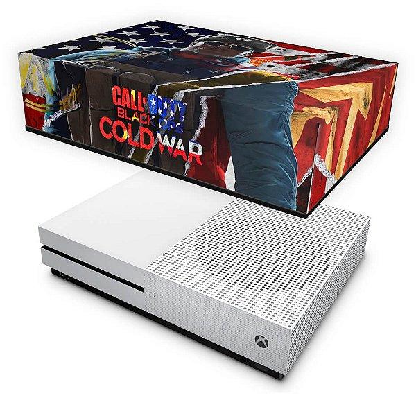 Xbox One Slim Capa Anti Poeira - Call Of Duty Cold War