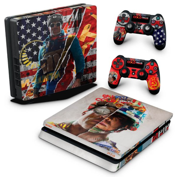 PS4 Slim Skin - Call Of Duty Cold War