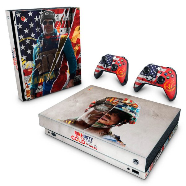 Xbox One X Skin - Call Of Duty Cold War