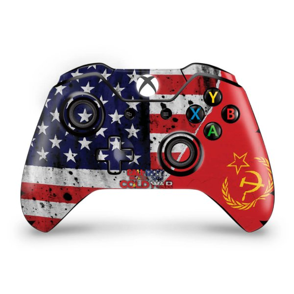 Skin Xbox One Fat Controle - Call Of Duty Cold War