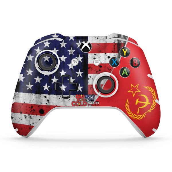 Skin Xbox One Slim X Controle - Call Of Duty Cold War