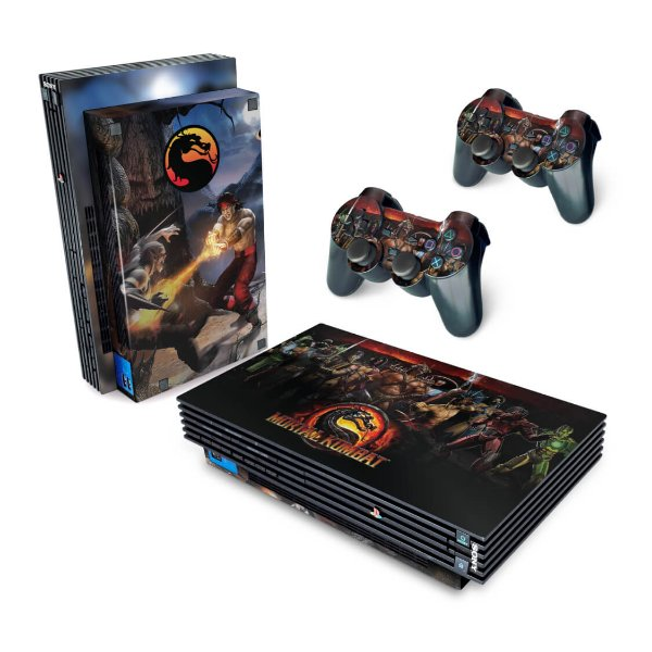 PS2 Fat Skin - Mortal Kombat