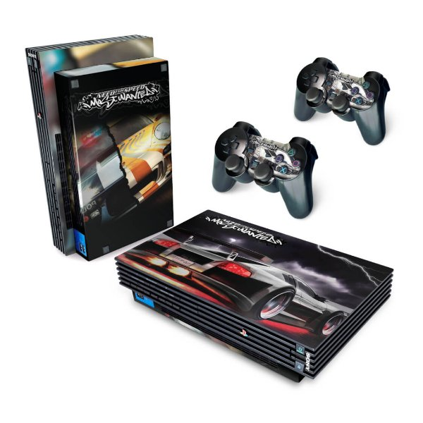 PS2 Fat Skin - Need for Speed: Most Wanted