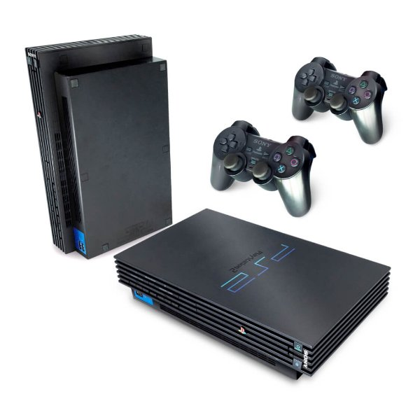 PS2 Fat Skin - Película Transparente
