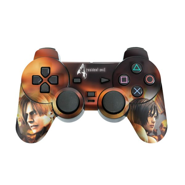 PS2 Controle Skin - Resident Evil 4