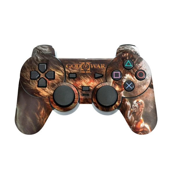PS2 Controle Skin - God Of War 2 II