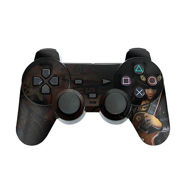 PS2 Controle Skin - Guitar Hero III 3