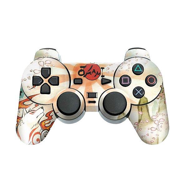 PS2 Controle Skin - Okami