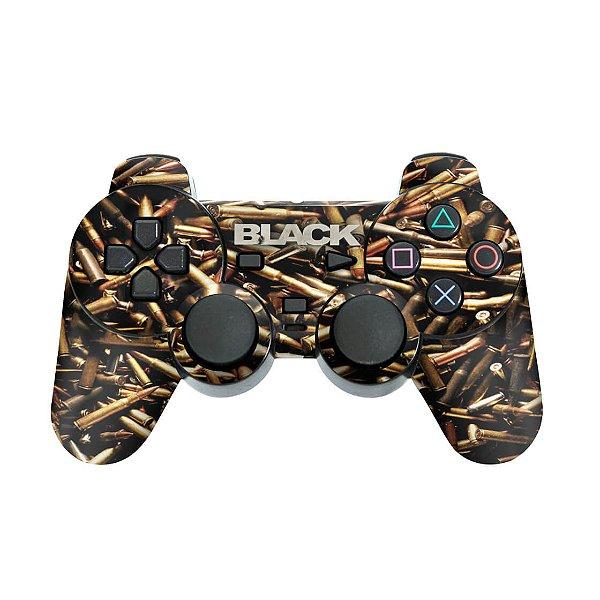PS2 Controle Skin - Black