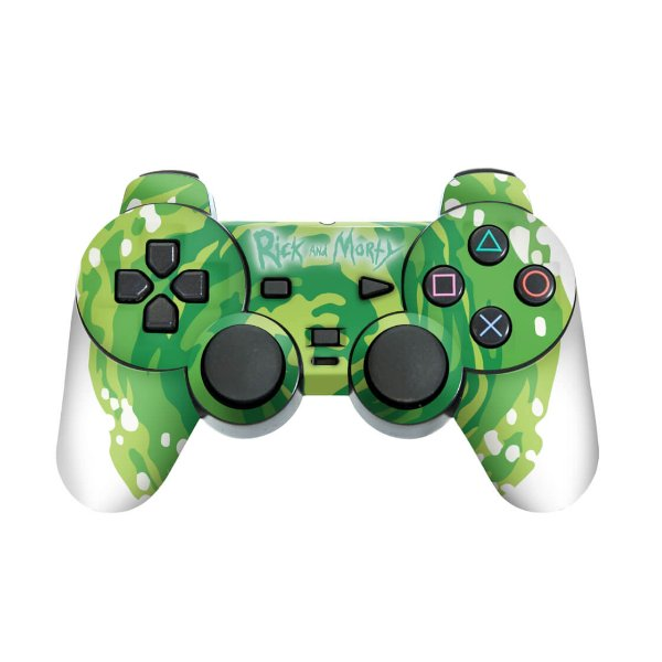 PS2 Controle Skin - Rick And Morty