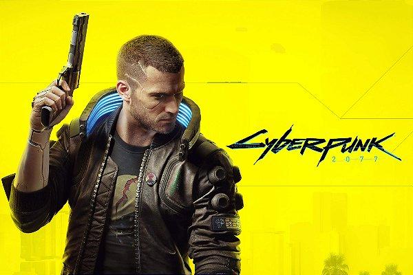 Poster Cyberpunk 2077 A