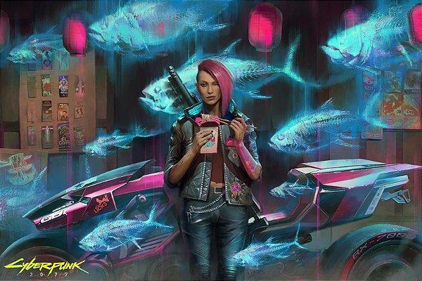 Poster Cyberpunk 2077 D