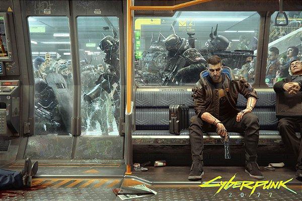 Poster Cyberpunk 2077 G