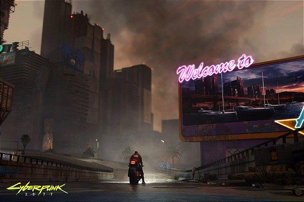 Poster Cyberpunk 2077 J