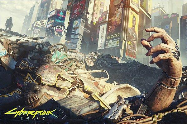 Poster Cyberpunk 2077 L