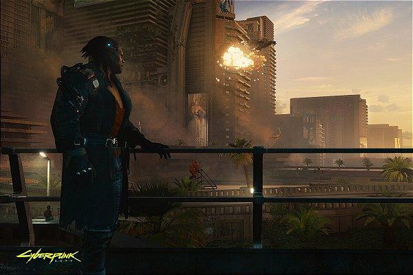 Poster Cyberpunk 2077 M