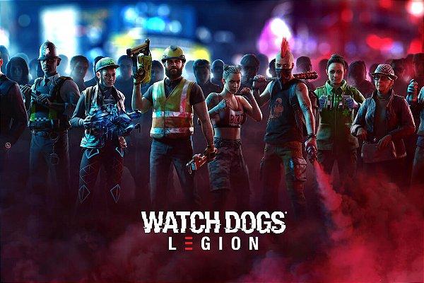 Poster Watch Dogs Legion F